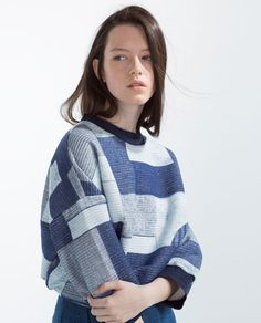 QUILTED SWEATSHIRT-View all-T-shirts-Woman-COLLECTION SS16 | ZARA United States