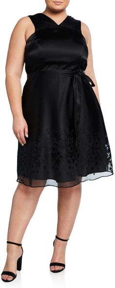 8eba5cd6f9a79 Rachel Roy Plus Size Ophelia Star-Printed A-Line Dress