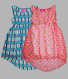 Wholesale Girls Summer Fashion GLP73410 Girls 7-16 Hi-Lo Chiffon Dress SKWholesale.net