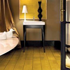 Bisazza Gold Floor 20x20