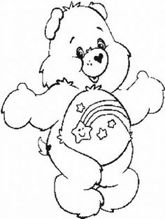 wish bear coloring pages - photo#5