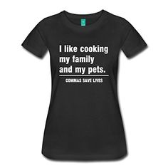 >> Click to Buy << Commas Save Lives Women's Premium T-Shirt Women T Shirt Cheap Sale Women T Shirt Hot Elling T Shirt For Woman  Youth #Affiliate