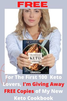 I'm offering free copies of my latest cookbook to The First 100 keto lovers. Enjoy Keto Bread Plus 100 + Other Delicious Keto Recipes! The Critical Keto Cookbook of 100 + Keto recettes for breakfast, snacks, sweets, snacks, and appetizers. For any recipe, net sugars, fat , protein and calorie counting. You will eat such recipes as Fluffy Breakfast Porridge, Spicy Buffalo Wings, Mini Burgers, Jalapeño Corn Bread, Fish Tacos, Snacks and lots more. #keto #ketodiet #ketodietplan #ketodie..