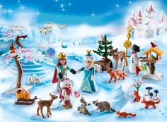 Playmobil Advent Calendar Royal Ice Skating Trip - Glide across the frozen lake with the royal family with the PLAYMOBIL Advent Calendar Royal Ice Skat Play Mobile, Playmobil Sets, Advent Calenders, Halloween This Year, Woodland Creatures, Toys R Us, Imaginative Play, Toys For Girls, Ice Skating
