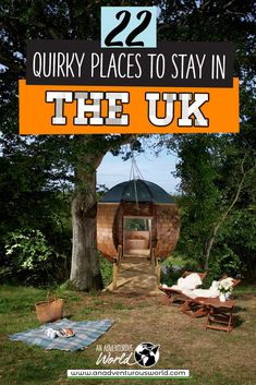 Are you looking for some quirky places to stay in the UK? From cute castles to futuristic glamping pods, these are the coolest Airbnbs for a UK staycation! #Airbnb #UniqueStays #UniqueAccommodation #UniqueHotels #UKAccommodation #QuirkyAccommodation #QuirkyHotels #UK #England #Scotland #Wales #Staycations #Hotels #Accommodation Scotland Travel Guide, Europe Travel Tips, Travel Destinations, Travel Guides, Girls Vacation, Girls Getaway, Quirky Places To Stay, Unique Hotels, Things To Do In London