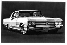Three happy faces: One 1964 Buick Wildcat.