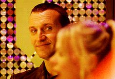 This face is why I love him Ninth Doctor, Bbc Doctor Who, Just Give Up, Just Run, Why I Love Him, Christopher Eccleston, Rose Tyler, Torchwood, Geronimo