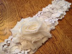 Simply Shabby Chic Garter by LolaBridalDesigns on Etsy, $7.00