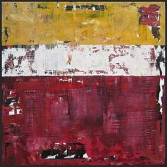 revelry modern abstract painting maroon crimson 48x48 Shawn McNulty; Acrylic and Pumice on Canvas ©2010