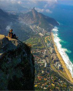 Pedra da Gávea, Rio de Janeiro Photography by @alinecsdelima  #WeLiveToExplore