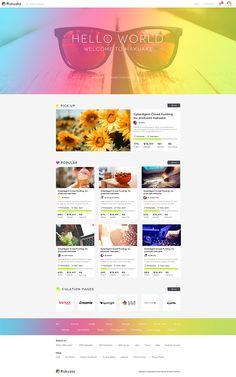Makuake - Redesign - NEW UI Concept