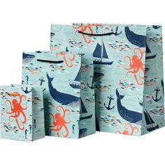 Paper Source nautical that inspired Stampin' Up! Sea Street and Maritime DSP. Very interesting. Nautical Gifts, Nautical Theme, Nautical Bags, Gift Wrapping Paper, Wrapping Papers, Wrapping Ideas, Ribbon Wrap, Coastal Christmas, Paper Source