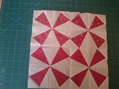 Second block in new quilt