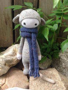 RADA the rat made by Eleni H. / crochet pattern by lalylala