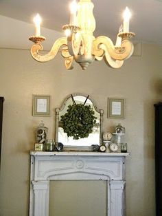 Faux Fireplace for my master bedroom??