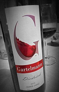 The Winesmith reviews Gartelmann Diedrich Shiraz... Shiraz Wine, Wines, Bottle, Flask