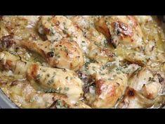 Choumicha : Cuisses de poulet à la sauce barbecue - YouTube Barbecue Chicken, Sauce Barbecue, Mauritian Food, Mushroom Risotto, New Recipes, Chicken Recipes, Stuffed Mushrooms, Nutrition, Lunch