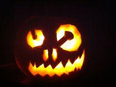 My first pumpkin :) in a few years anyways ha ha