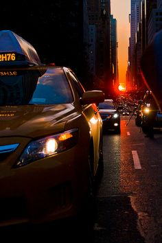 NYC. Manhattanhenge