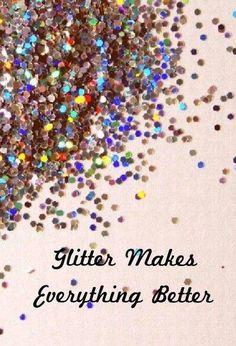 A sparkle quote