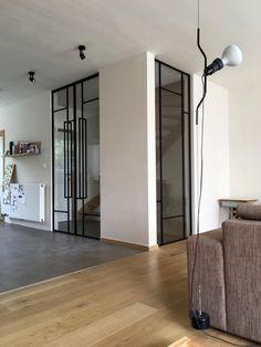 Smeedijzeren raam INCEE Smeedijzeren dubbele pivoterende deur INCEE #INCEE #smederij_incee