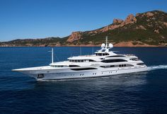 Galaxy is a 56 m / 184.8 ft luxury motor yacht. She was built by Benetti in 2005.      With a beam of 10.4 m and a draft of 3.3 m. She has a steel hull and aluminium superstructure. This adds up to a gross tonnage of 893 tones.     She is powered by Caterpillar engines  of 1850 hp each capable of reaching a maximum speed of 16 knots and cruise at 14 knots for 5000 nautical miles.   She can...