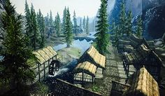 Well, that was a nice, short tour of the town. I would cover Bleak Falls Barrow next, but it is incidentally in Falkreath Hold, and you will have to wait for the proper tour guide. But for now, those of you that have recently joined in know a few extras about this charming riverside town.
