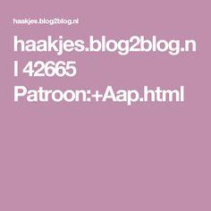 haakjes.blog2blog.nl 42665 Patroon:+Aap.html