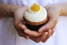 organic carrot cupcake #organic #cupcake #carrot www.sweetcharllote.com