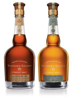 Woodford Reserve announces the release of its limited edition Master's Collection which will hit stores in early November. The Double Malt Selections – Straight Malt Whiskey and Classic Malt – are the first fully matured whiskies crafted from malt in Kentucky since Prohibition.