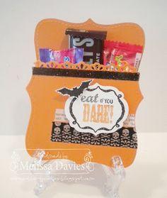 RubberFUNatics: Halloween Top Note Pocket Treat