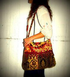 big and beautiful boho  bag
