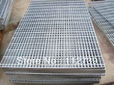 Best Non Slip Non Shovel Galvinized Steel Stair Tread 400 x 300