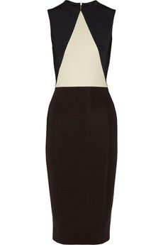 Love it !!....Victoria Beckham Paneled stretch-knit dress | NET-A-PORTER  $2115.00