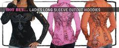 Women's Long Sleeves | Biker Clothing | Women's & Men's Motorcycle Apparel | Biker Clothing Company