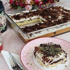 Kremalı kek yapımı