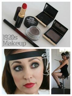 This simple 1920s Makeup Tutorial is the bee's knees. @autumnreeser #halloween #flappergirl #greatgatsby