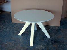 masa rotunda Spider Rustic Industrial, White Oak, Spider, Steampunk, Table, Furniture, Home Decor, Spiders, Decoration Home