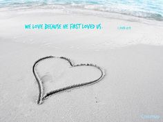 Image about love in Textos by Gabriela on We Heart It Beach Heart, Positivity Blog, Ultra Hd 4k Wallpaper, Wallpapers, He First Loved Us, Romantic Places, Self Inking Stamps, Me Time, To Focus