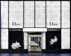 Vetrine Dior by Daniel Arsham 2011 Dior Fashion, Fashion Night, Dior Store, Shop Signage, Metal Facade, Jewellery Showroom, Dior Dress, Shoe Display, Fashion Sites