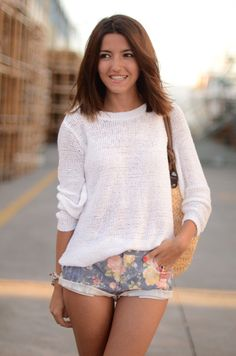 floral & knit