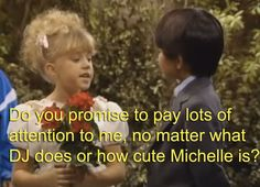 Stephanie Tanner's Dream Wedding.... Can you tell she is the middle child ;)