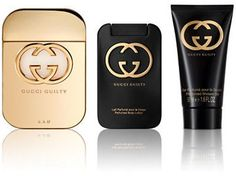 Gucci Guilty Bath and Body Gift Set - 137.00 Value