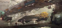 Concept ships by Kurobot