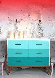 Peindre une commode sur pinterest peindre des meubles for Repeindre une commode