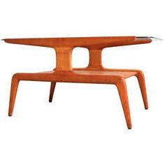 Gio Ponti two tier Coffee table #GISSLER #interiordesign