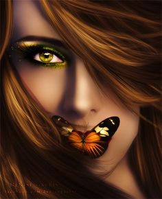 speak up for those who cant! Little Girl Photography, Dark Art Photography, Portrait Photography Poses, Butterfly Face, Butterfly Kisses, Animated Love Images, Cute Girl Wallpaper, Arabic Art, Beautiful Fairies