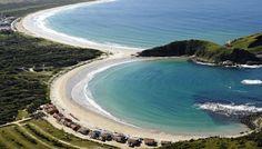 Playas de Brasil: Sol y arenas cálidas en las playas de Cabo Frío (B...
