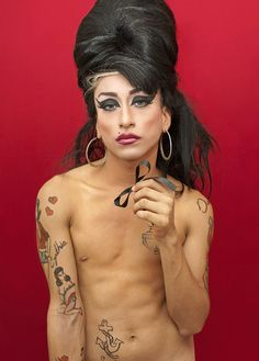 Bae likes to cosplay Amy Winehouse.. and I ain't saying no no no