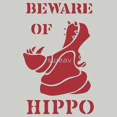 Beware of Hippo by sweav